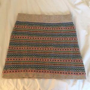 Original Madewell Wallace wool skirt
